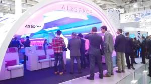 "Airbus Kabinenkonzept ""Airspace by Airbus"""