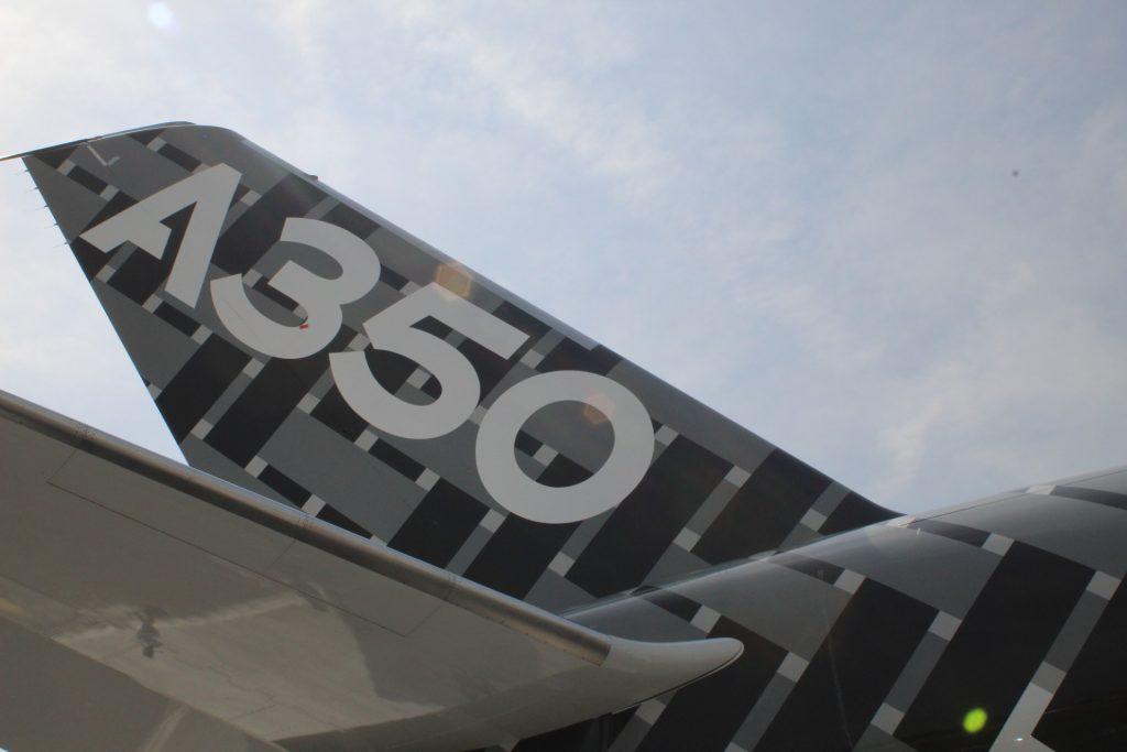 A350_vertical_stabilizer-Paris_Air_Show_2017