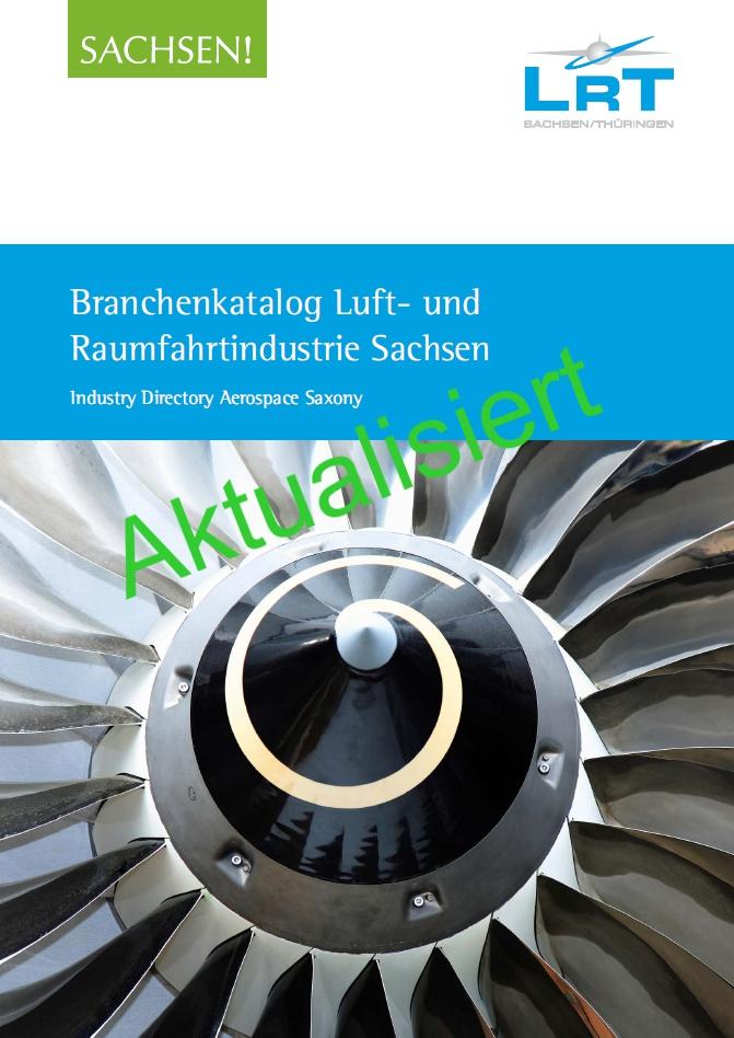 Aktualisiert: Branchenkatalog der sächsischen Luft- und Raumfahrttechnik liegt neu vor